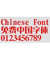 Hua Kang Yasong ti Font