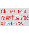 Super century Zhong ming Font
