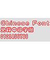 Creative Chao Hei FontCreative Cu yuan Font Creative Cu yuan Font