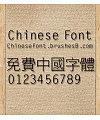 Calligrapher Hei ti Font