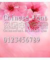 Classic Xi kong hei Font