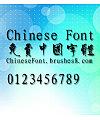Classic Zhong bian Font