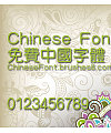 Classic Zhong yuan Font