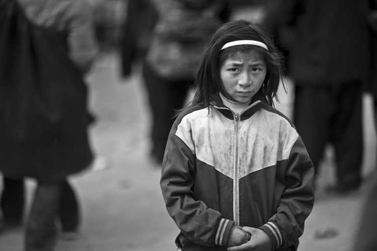China's poor children---International Children's Day