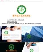 China VI design – Manghe forest ecological tourism district recombinant LOGO design