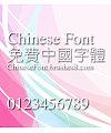 Creative Xian ti Font