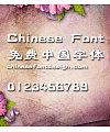 Han yi Shen gong ti Font-Simplified Chinese