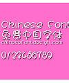 Han yi Wa wa zhuan Font-Simplified Chinese