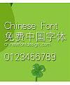 Han yi Xi deng xian Font-Simplified Chinese