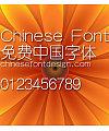 Han yi Xi yuan Font-Simplified Chinese