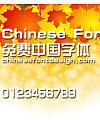 Han yi Zong yi ti jian Font
