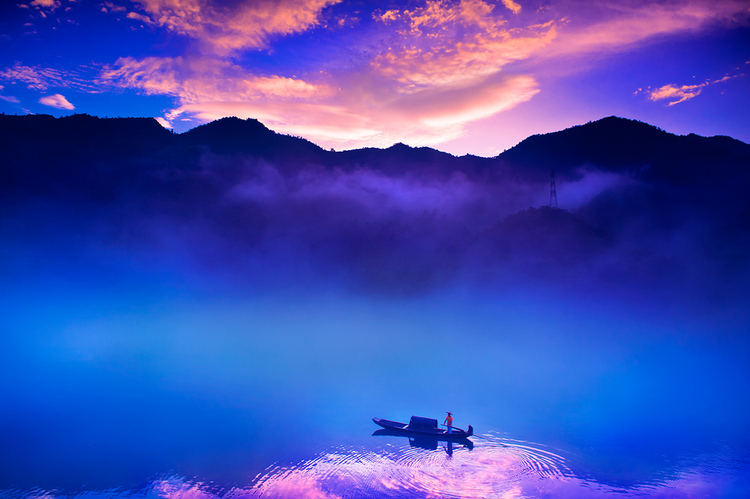 The world' s most beautiful sunsets-China dongjiang