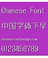 Huai liu ti Font-Simplified Chinese