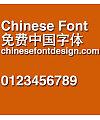 Jin qiao Cu hei Font-Simplified Chinese