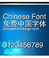 Jin qiao Jian hei ti Font-Simplified Chinese