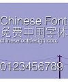 Jin qiao Xi yuan ti Font-Simplified Chinese