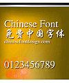 Jin qiao Xing kai ti Font-Simplified Chinese