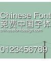Jin qiao Zhong yuan ti Font-Simplified Chinese