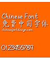 Qi gong ti Font-Simplified Chinese