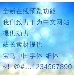 Permalink to BMW China Xi ti Font-Simplified Chinese