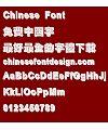 Chao shi ji Cu hei ti Font-Traditional Chinese