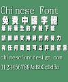 Jin mei Chao hei zi yuan xing ti Font-Traditional Chinese
