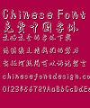Li ti Gu yue xin nan Xing kuai Font-Simplified Chinese