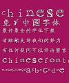 Ma wei Shi zhuang Font-Simplified Chinese