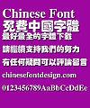 Microsoft Hu po Font-Simplified Chinese