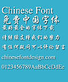 Microsoft Xing kai Font-Simplified Chinese