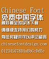 Microsoft Zong yi Font-Simplified Chinese