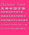Mini Cu Li shu Font-Simplified Chinese