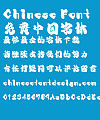 Mini Flower petals Font-Simplified Chinese