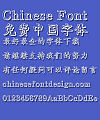 Mini Gear Font-Simplified Chinese