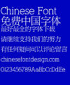 Mini New bao song Font-Simplified Chinese