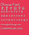 Mini Qi ti Font-Simplified Chinese