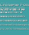 Mini Yan shui ti Font-Simplified Chinese