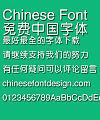 Microsoft Zhong yuan Font-Traditional Chinese