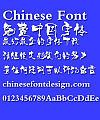 Ye GenYou Fang Liu de hua Font-Simplified Chinese