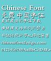 Ye GenYou Te li Font-Simplified Chinese