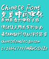 Ye GenYou Te se Jian ti Font- Simplified Chinese