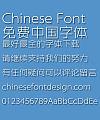 Zhang Haishan Yue xian Font-Simplified Chinese
