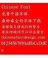Han ding Zhong kai Font-Simplified Chinese