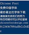 Han ding Zhong yuan Font-Simplified Chinese