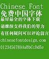 Hua kang Jian biao ti Song Font- Simplified Chinese