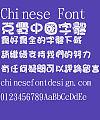 Jin Mei Da pang pang ge xing Font-Traditional Chinese