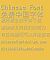 Kun luen NEW Xi yuan Font-Simplified Chinese