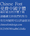Super century Xi ming Font – Traditional Chinese