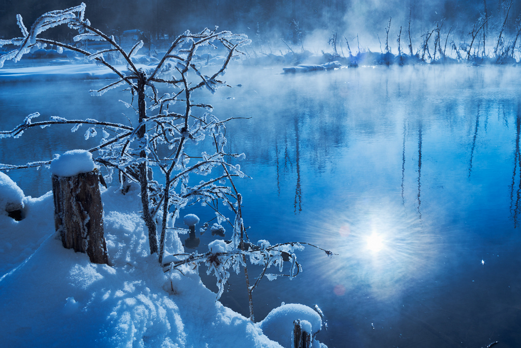 6597360037728002405 Cherish change in a winter wonderland HD! HD!!   Beautiful China Winter Scenery Backgrounds Beautiful China
