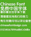 Fang zheng Cu yuan Font-Simplified Chinese